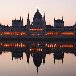 Budapest Parliament by Ilyés Zoltán - City,  Street & Park  Historic Districts ( hungary, budapest, budapest parliament, magyarország, budapest parlament )