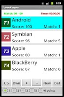 Screenshot of Score Keeper Free