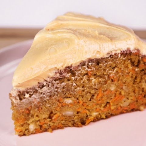 Carrot, Hazelnut, and Ginger Cake