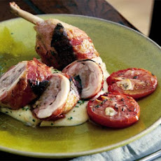 Chicken Ballottines With Sage & Pancetta