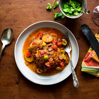 Chicken Stew With Sweet Plantains