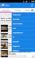 Screenshot of Slovenija Novice