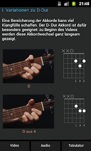 Gitarre-Lernmethode: E-Folk Screenshot