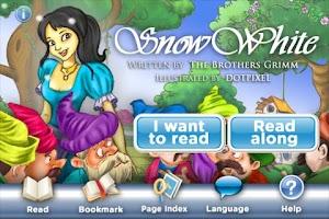 Screenshot of StoryChimes Snow White