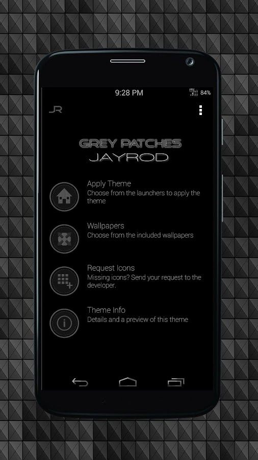 Grey Patches-Icon Pack Screenshot 3