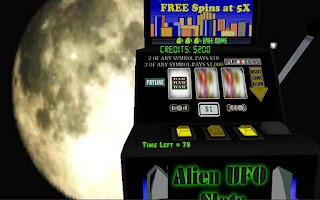 Screenshot of Alien UFO Encounter Slot Bonus
