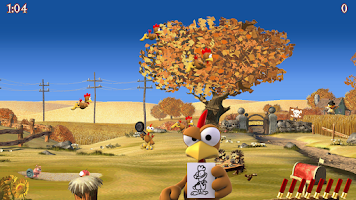 Screenshot of Crazy Chicken Deluxe