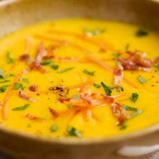 Carrot & Potato Soup With Bacon