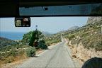 Deniz Palamut bükünden sonra çok dalgalı olduğundan karayolundan Knidos a ulaştık.