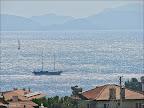 Datça ya dünyanın her yerinden tekneler uğruyor.