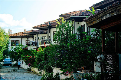 Akyaka evleri