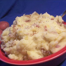 Mashed Red Potatoes With Horseradish