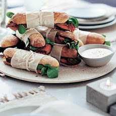 Beef & Caramelised Onion Sandwiches With Horseradish