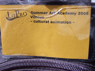 summer art academy 2008 in vilnius