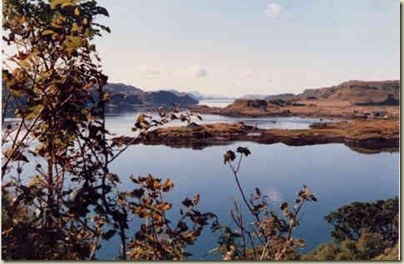 View from Dunollie Castle 2    Sept 1986