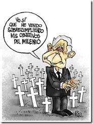 Pedro Méndez Suárez:  Metas del milenio de Bush