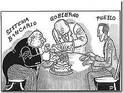 Banca, gobierno y pueblo