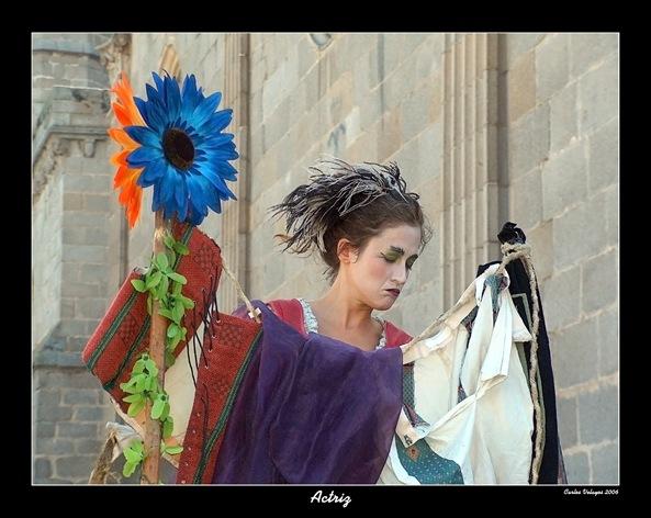 Actriz Mercado Medieval