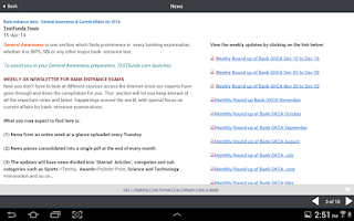Screenshot of MBA Test Prep