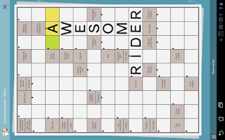 Screenshot of Grid games (crossword, sudoku)