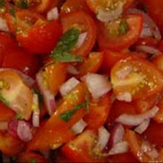 Tomato, Mint and Red Onion Salad