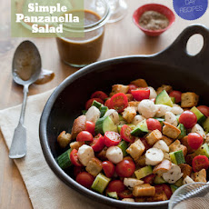Simple Panzanella Salad
