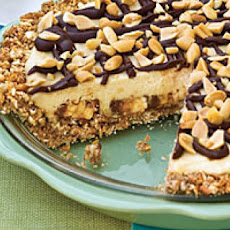 Snickers Bar Pie - Use up That Leftover Halloween Candy!