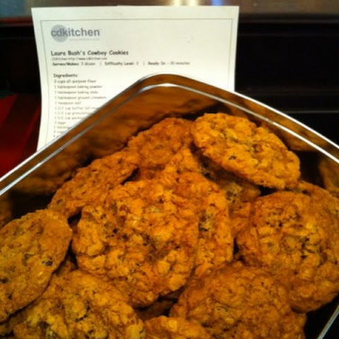 Laura Bush's Cowboy Cookies