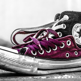 #Converse by Jalal Shahid - Artistic Objects Clothing & Accessories ( #purple, #hdr )
