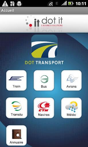 Dot Transport