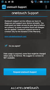 App ONE TOUCH Support APK for Windows Phone