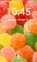 Screenshot of Keypad Lock Screen Parallax HD