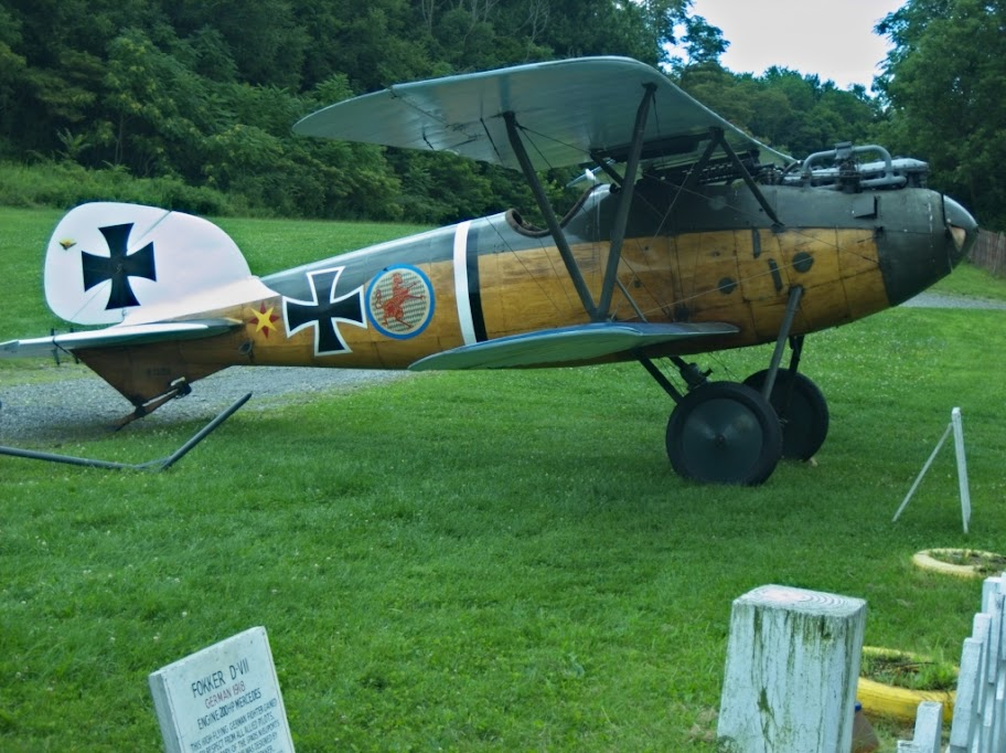 Fokker DIII at Rhinebeck Aerodrome, Copyright 2008 Christopher Smith