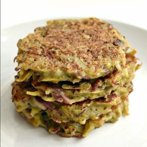 Root Vegetable Potato Pancakes