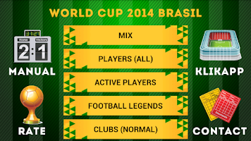 Screenshot of World Cup 2014 Brazil Charades