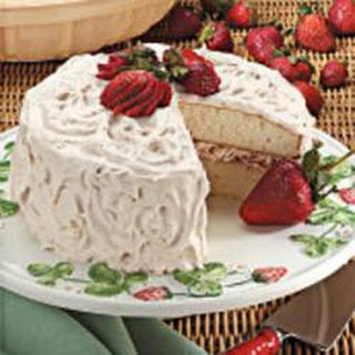 White Cake Strawberry Filling Recipes