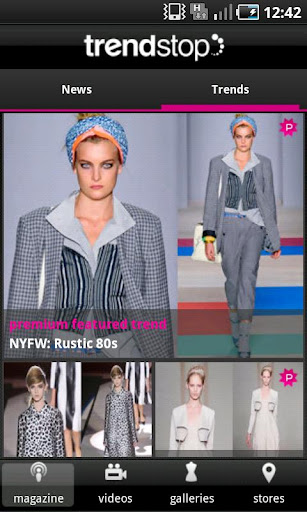 trendstop-fashion-trendtracker for android screenshot