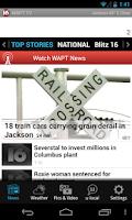 Screenshot of 16 WAPT News The One To Watch