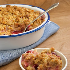 Pear and Plum Crisp
