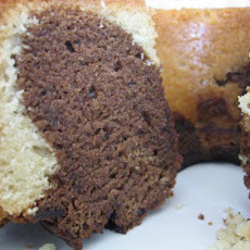Lazy Chef's Mighty Marble Cake