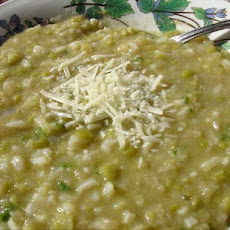 Split Pea and Rice Soup