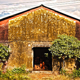 Old Pottery Factory by Sohil Laad - Digital Art Places ( outdoor, street, candid )