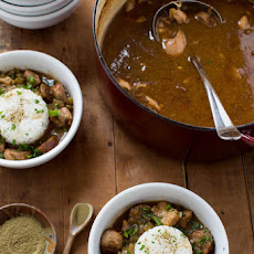 Chicken, Sausage, & Shrimp Gumbo