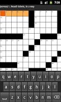 Screenshot of Newspaper Puzzles