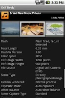 Screenshot of Exif Droid