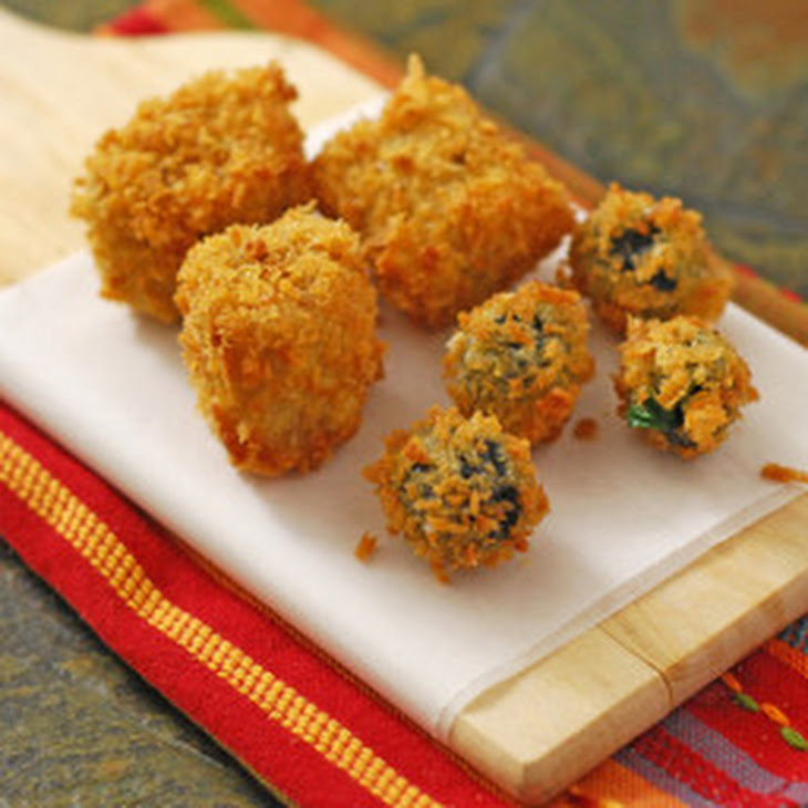 Fried Stuffed Olives Recipe | Yummly