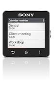 Screenshot of Calendar reminder Smart Extras