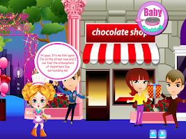Screenshot of Baby Strawberry Cake Cooking