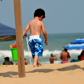 Weekend gateway by Debasish Dash - Babies & Children Children Candids ( beach, landscape )