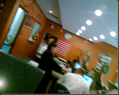 Efficiency staff in Sri Rampai immigration department